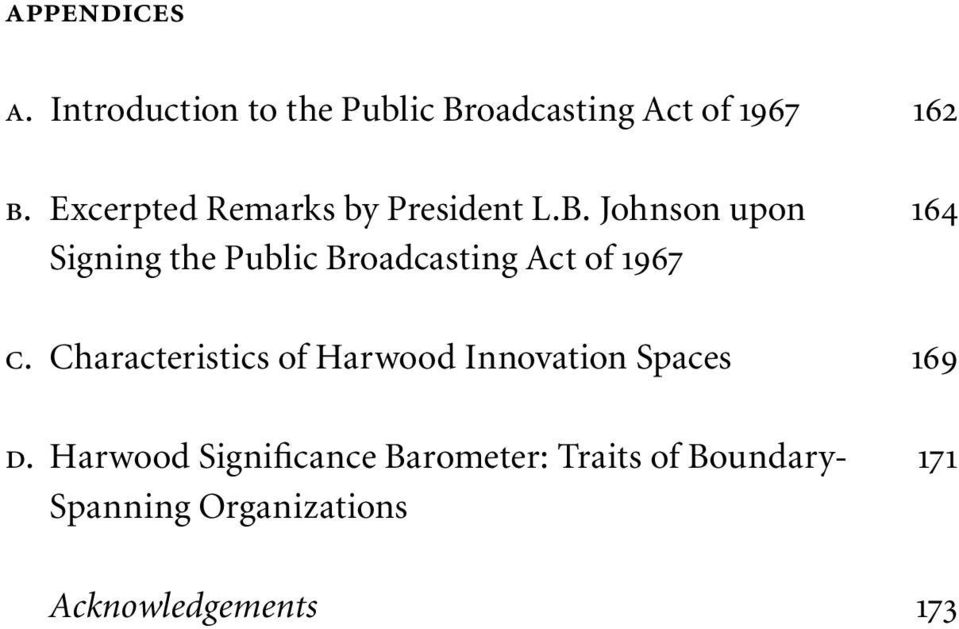 Johnson upon 164 Signing the Public Broadcasting Act of 1967 c.