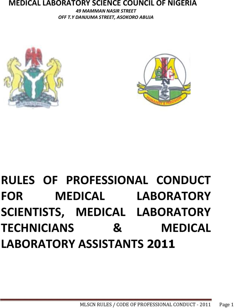 laboratory rules and regulations pdf