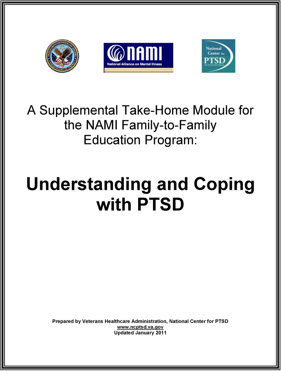 Coping with PTSD Prepared by Veterans Healthcare