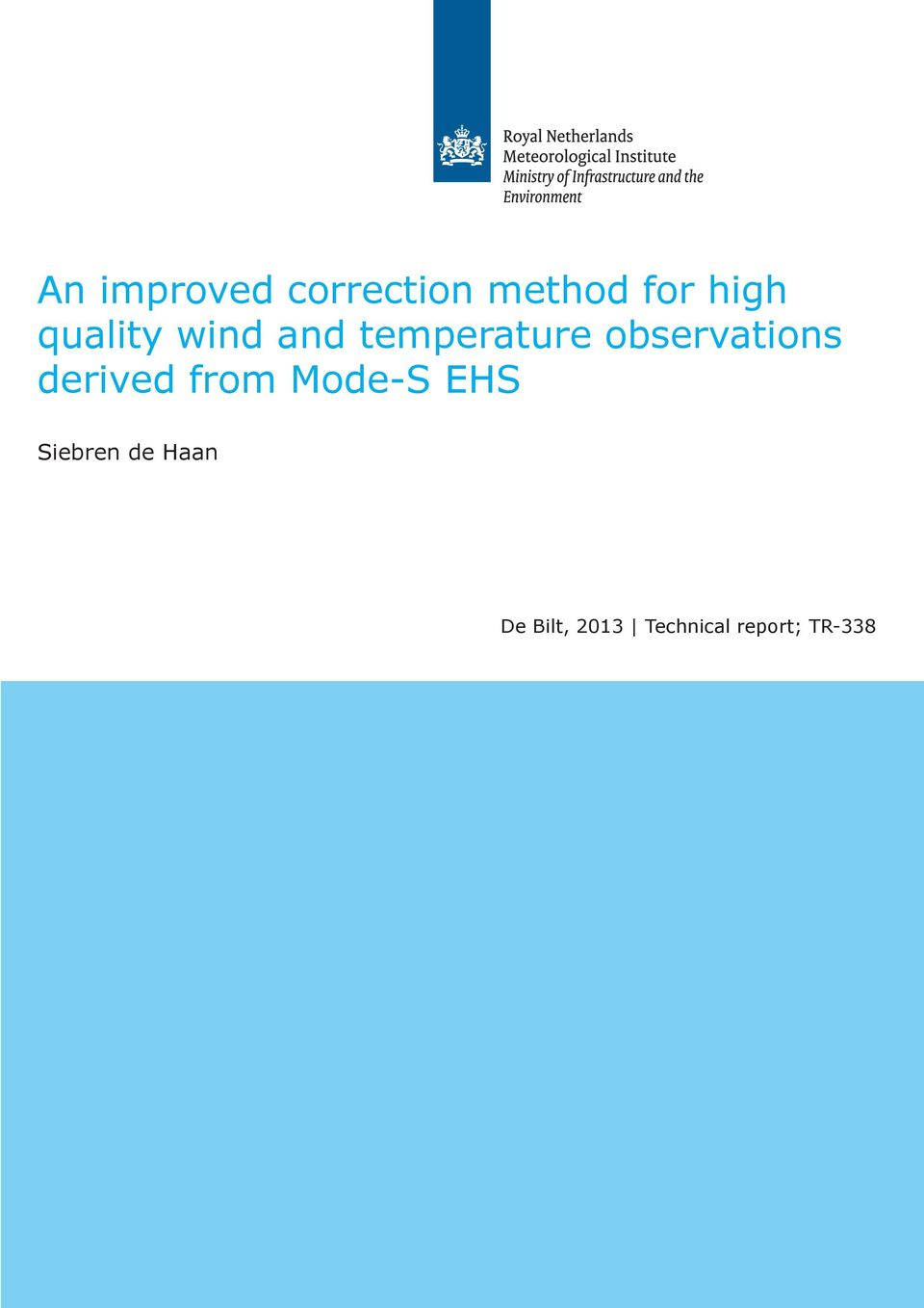 observations derived from Mode-S EHS