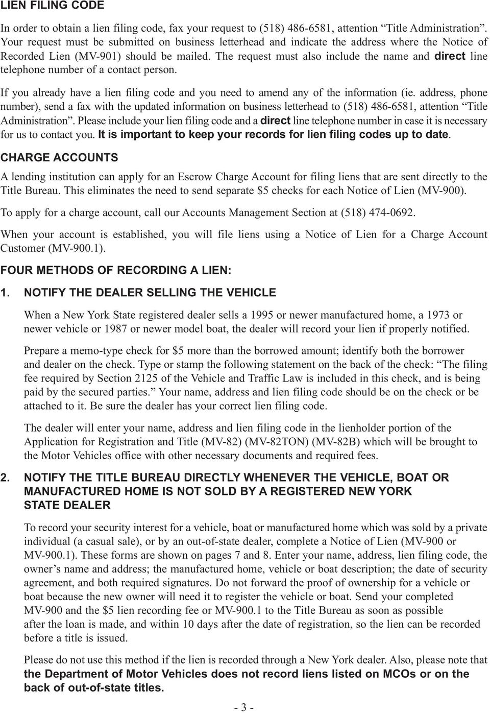 New york state department of motor vehicles pdf for New york state department of motor vehicles phone number