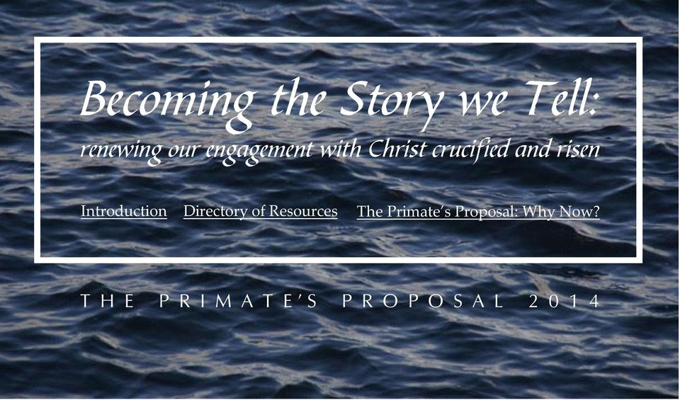 Introduction Directory of Resources The Primate s