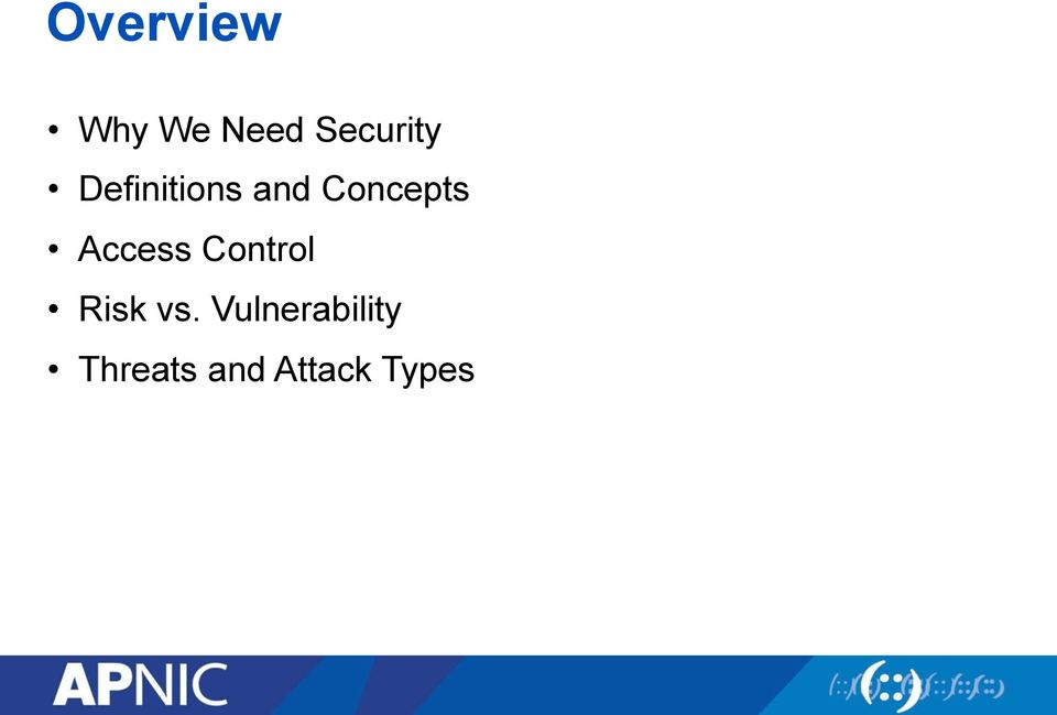 Access Control Risk vs.