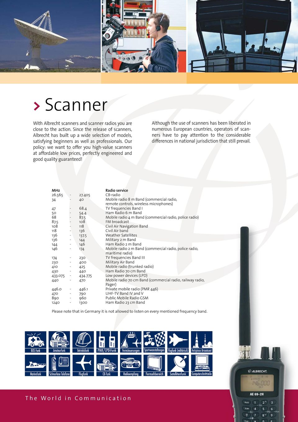 Our policy: we want to offer you high-value scanners at affordable low prices, perfectly engineered and good quality guaranteed!