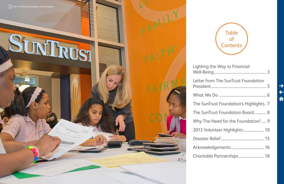 .. 6 The SunTrust s Highlights... 7 The SunTrust Board.