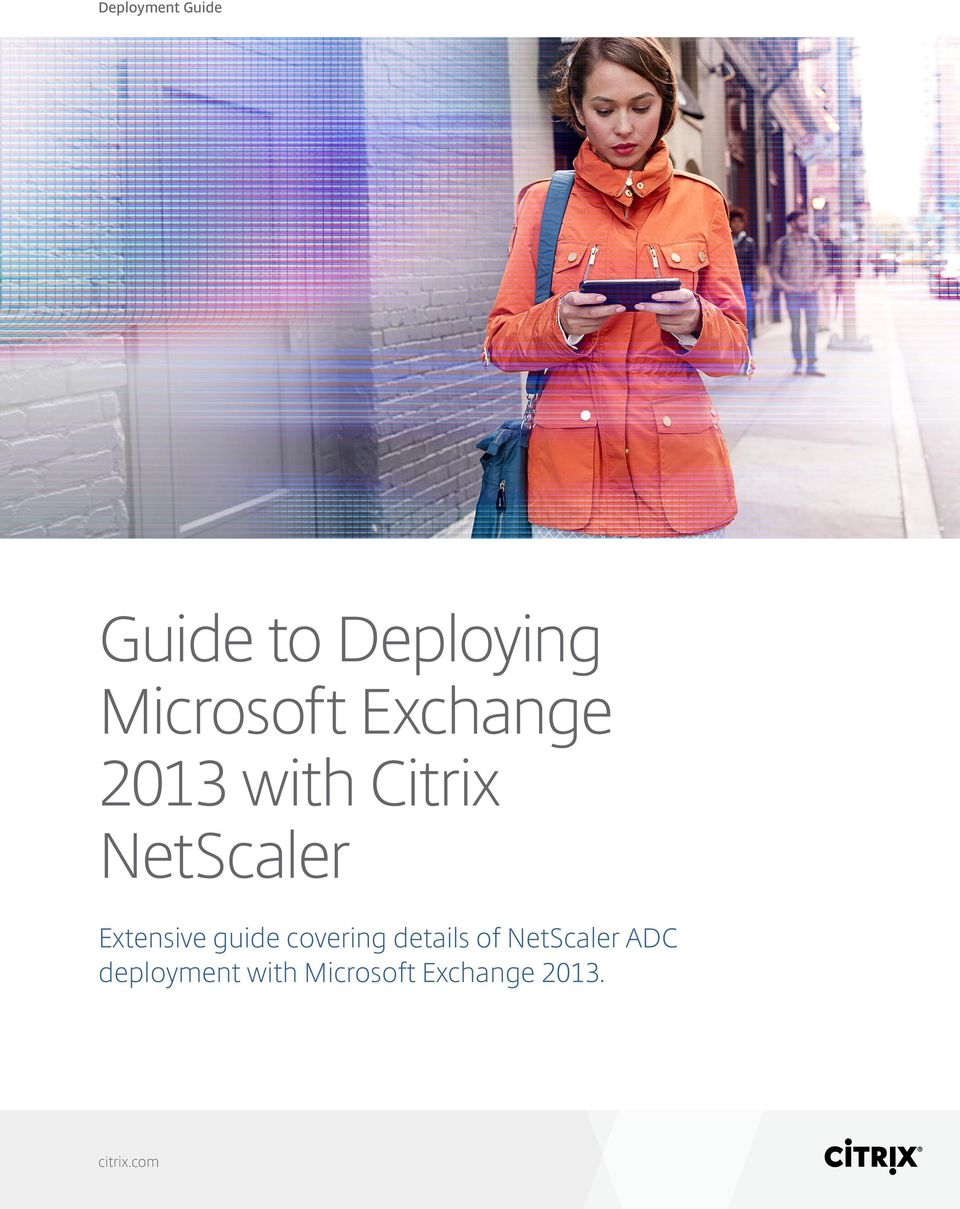 NetScaler Extensive guide covering details