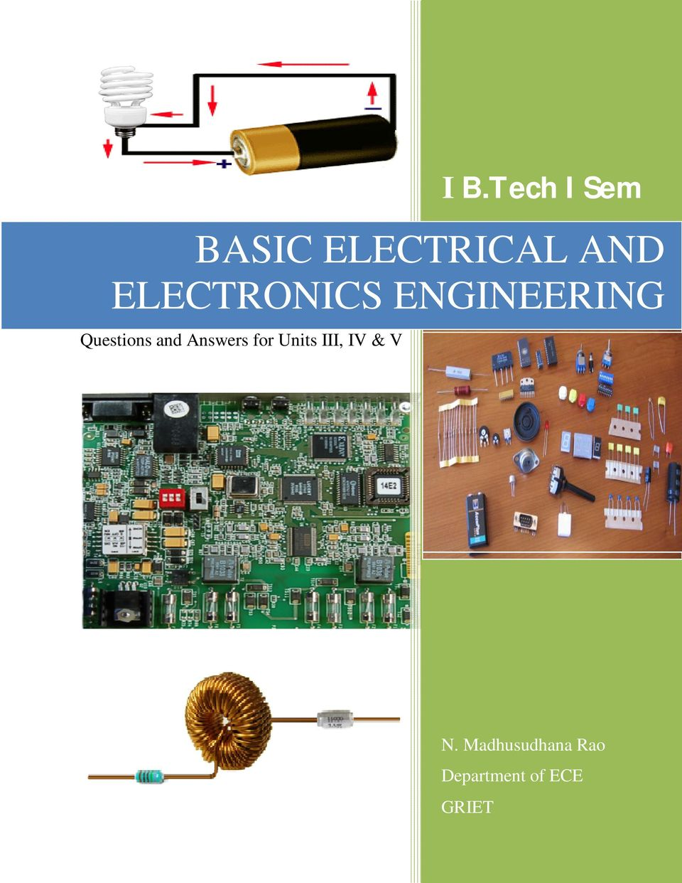 BASIC ELECTRICAL AND ELECTRONICS ENGINEERING - PDF