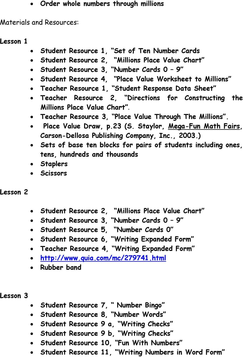 Place value of whole numbers through one million pdf teacher resource 3 place value through the millions place value draw p nvjuhfo Gallery