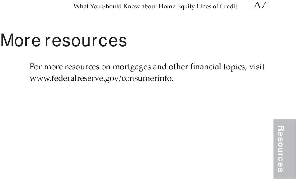 on mortgages and other financial topics, visit