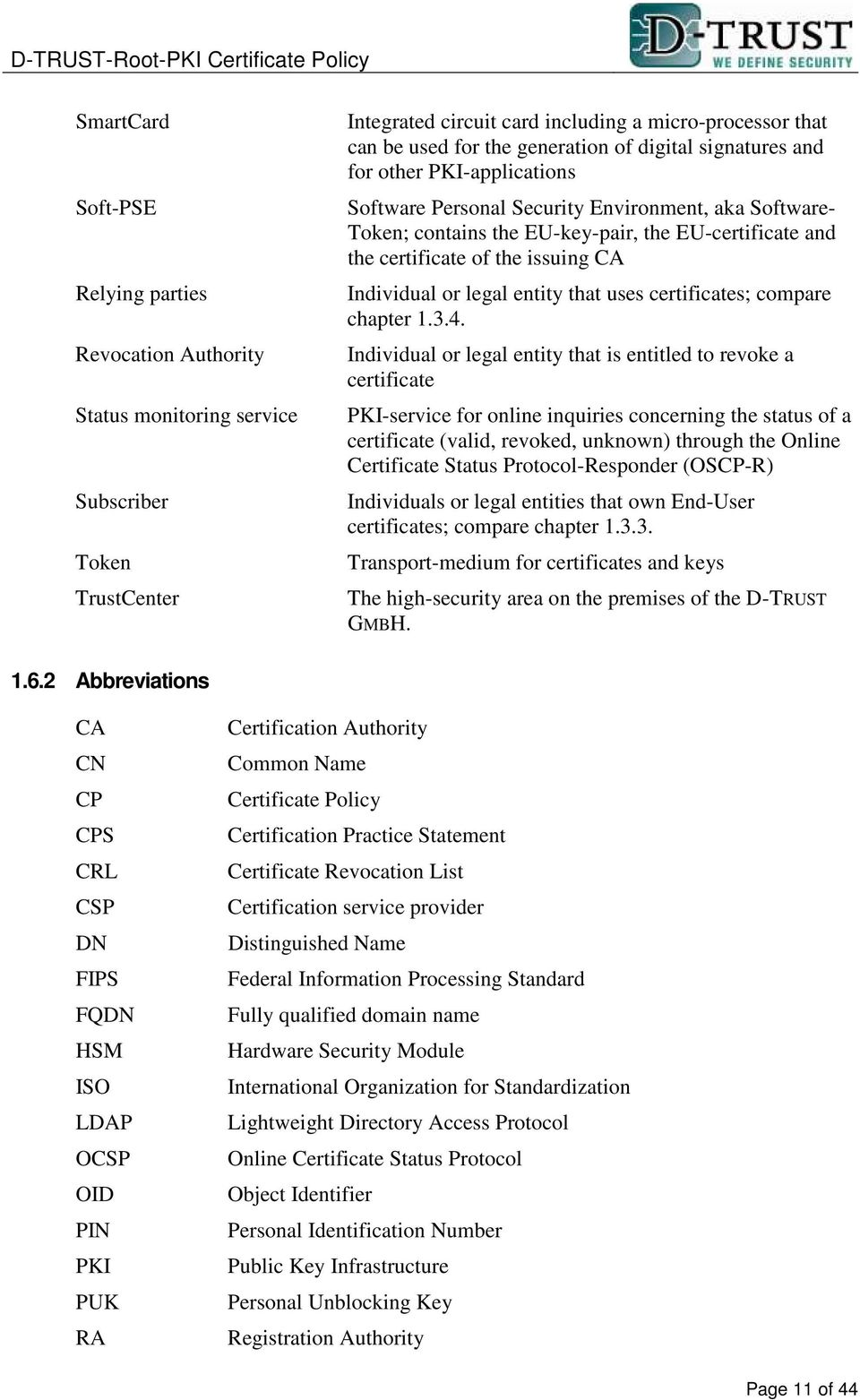 Individual or legal entity that uses certificates; compare chapter 1.3.4.