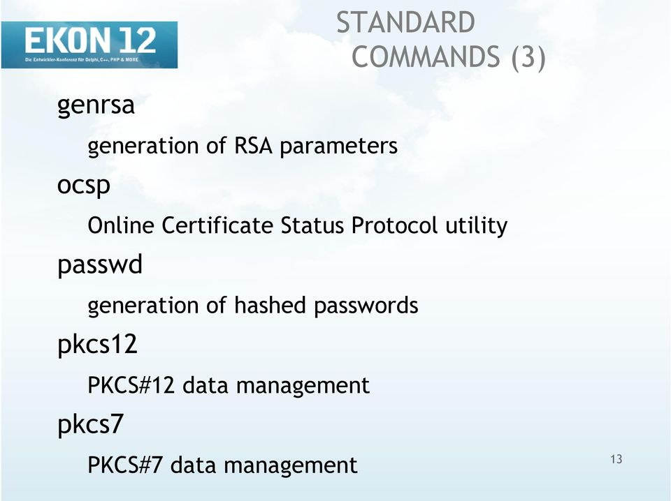 utility passwd generation of hashed passwords