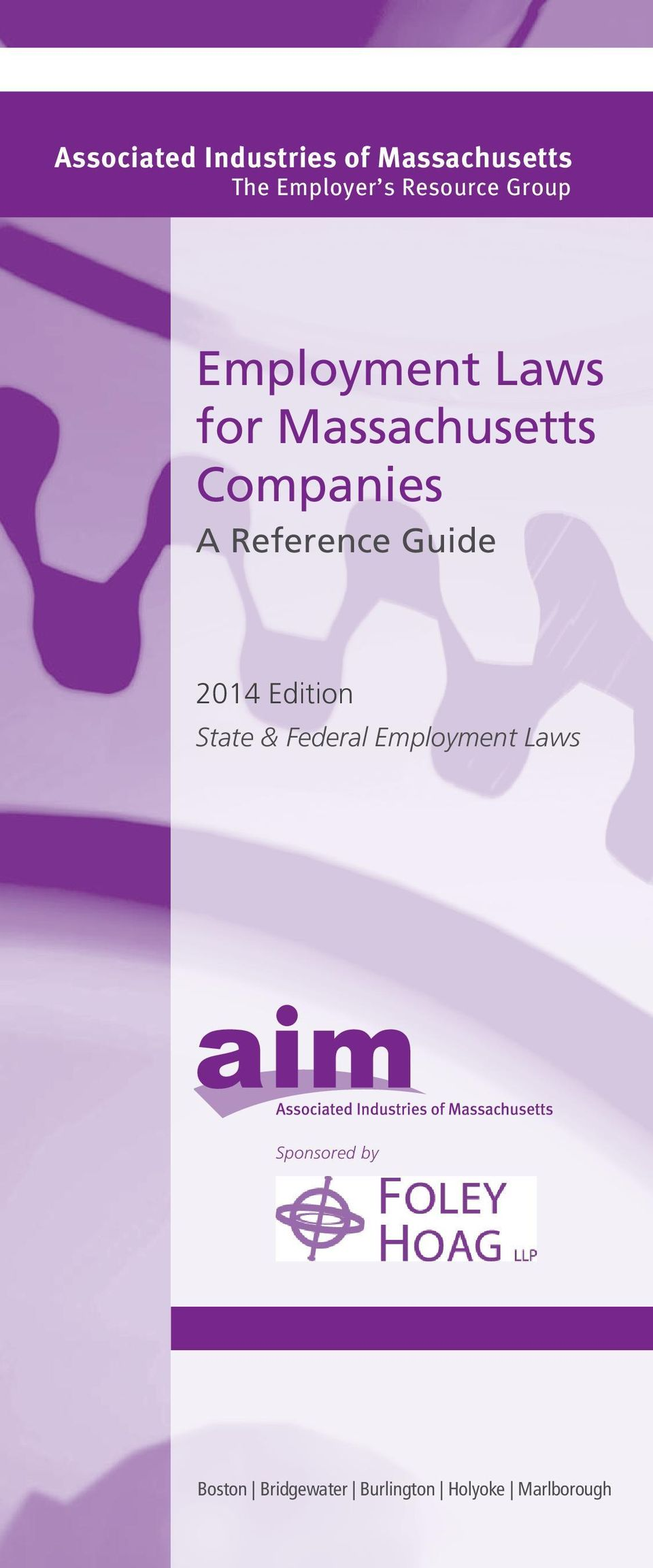 A Reference Guide 2014 Edition State & Federal Employment