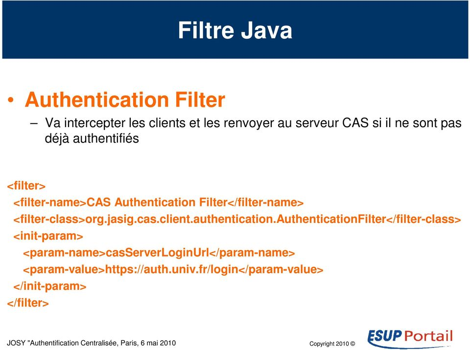 <filter-class>org.jasig.cas.client.authentication.