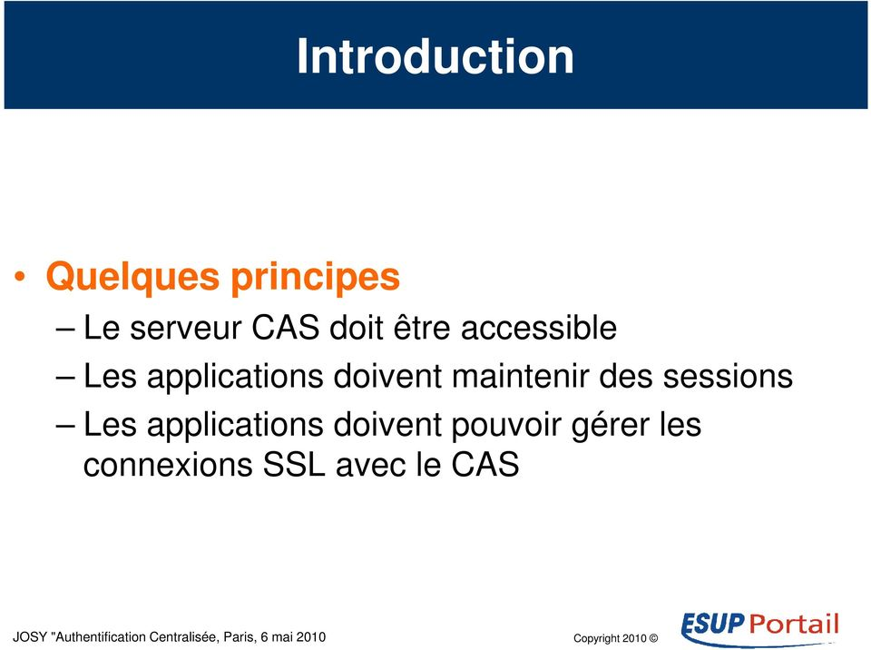 maintenir des sessions Les applications