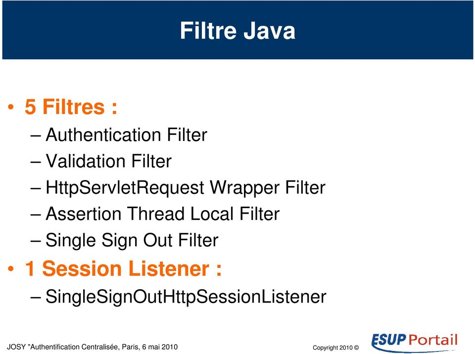 Filter Assertion Thread Local Filter Single Sign