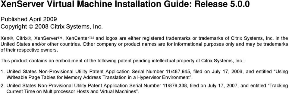 Other company or product names are for informational purposes only and may be trademarks of their respective owners.
