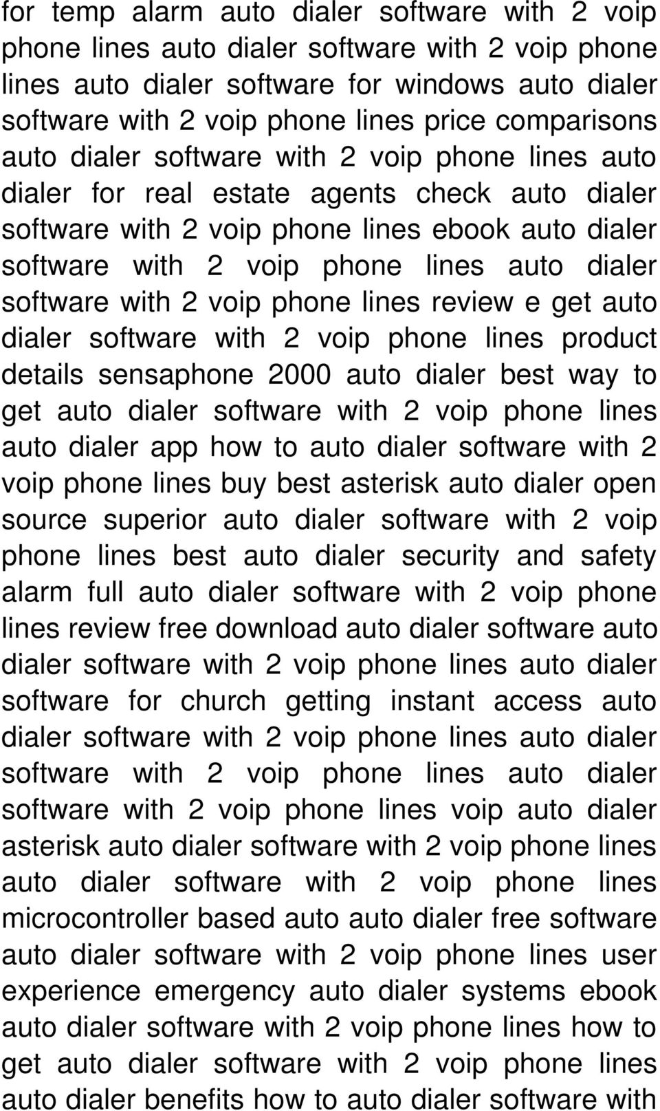dialer software with 2 voip phone lines review e get auto dialer software with 2 voip phone lines product details sensaphone 2000 auto dialer best way to get auto dialer software with 2 voip phone