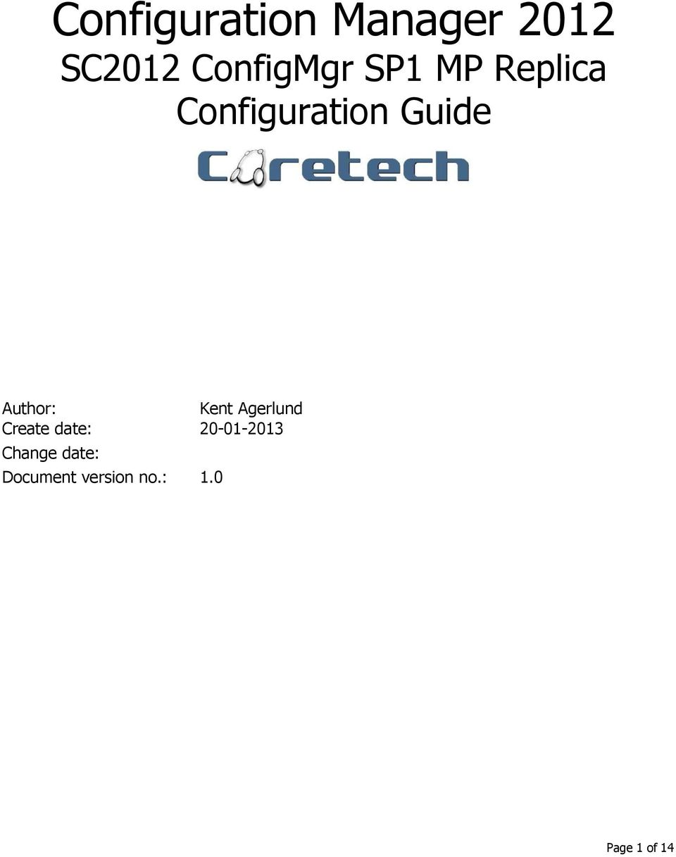 configuration manager 2012 sc2012 configmgr sp1 mp replica configuration guide pdf. Black Bedroom Furniture Sets. Home Design Ideas