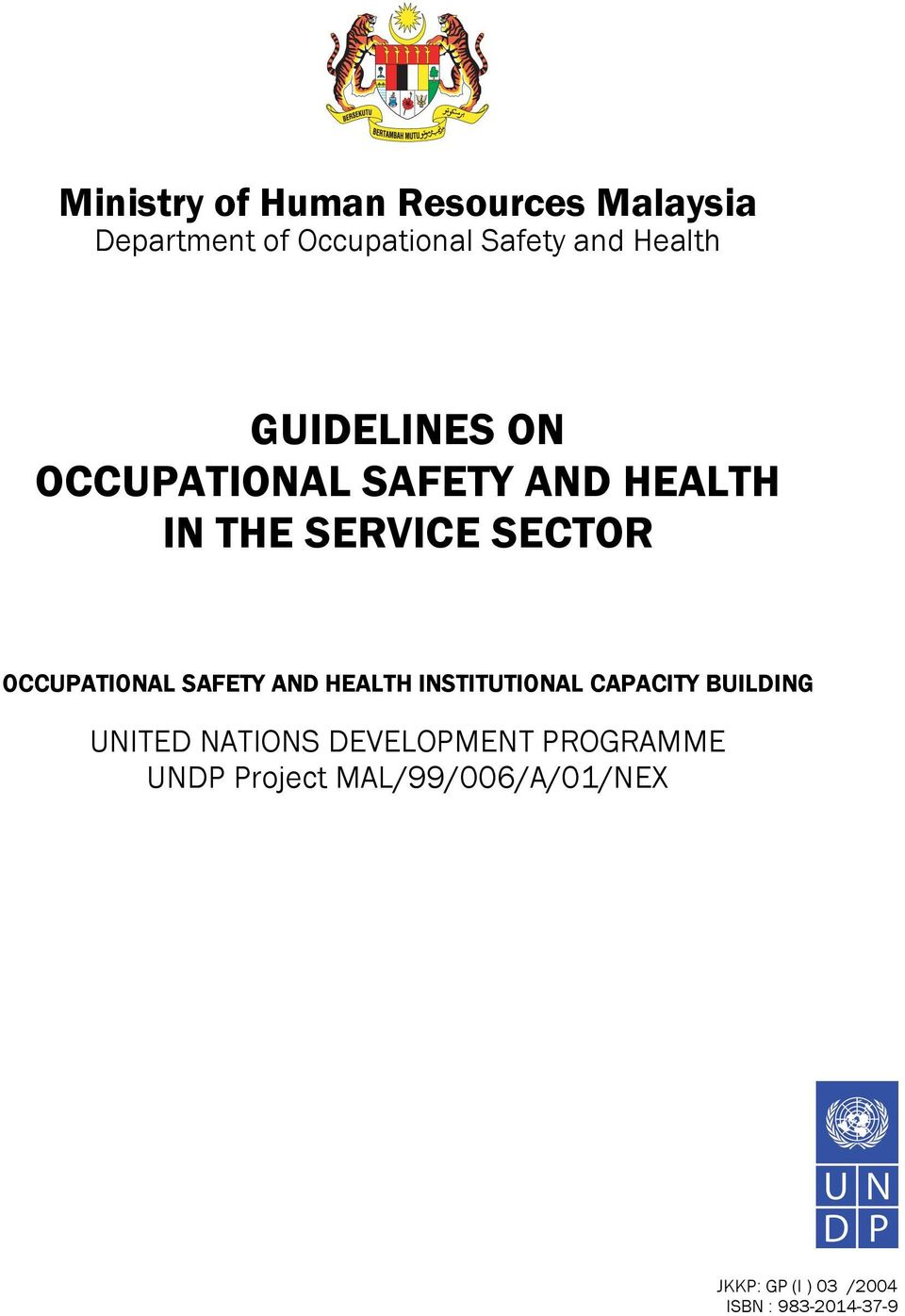 Occupational Safety And Health Administration Building GUIDELINES ON OCCUPATI...