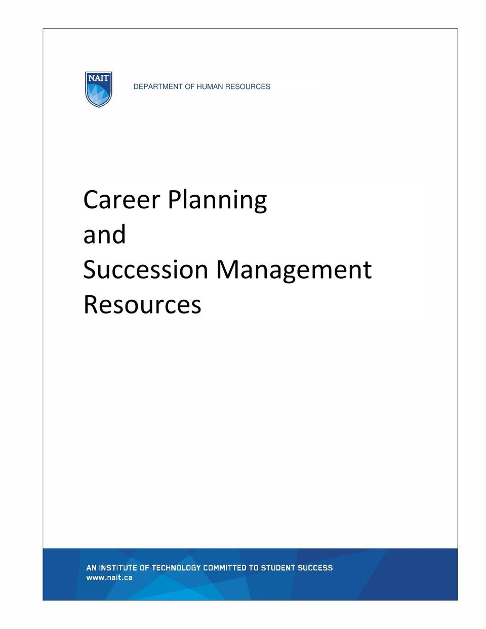 Career Planning and