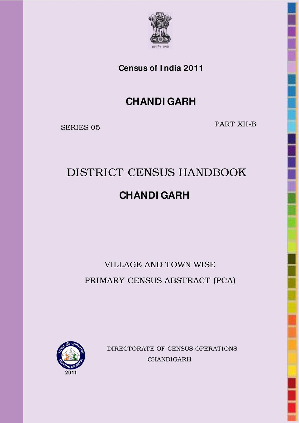 CHANDIGARH VILLAGE AND TOWN WISE PRIMARY