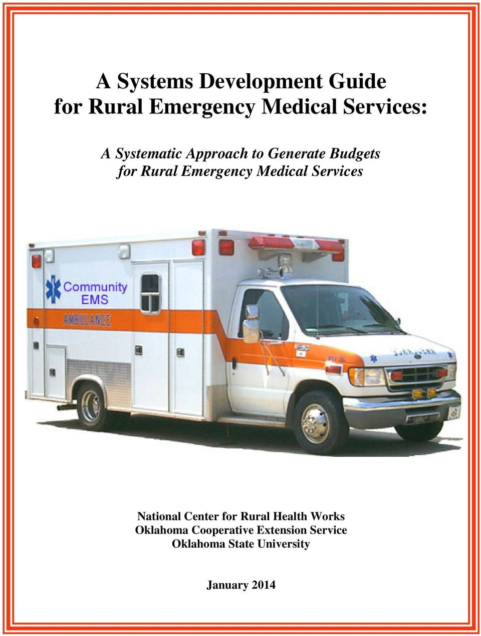 Medical Services National Center for Rural Health Works Oklahoma
