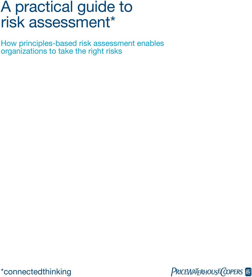 risk assessment enables