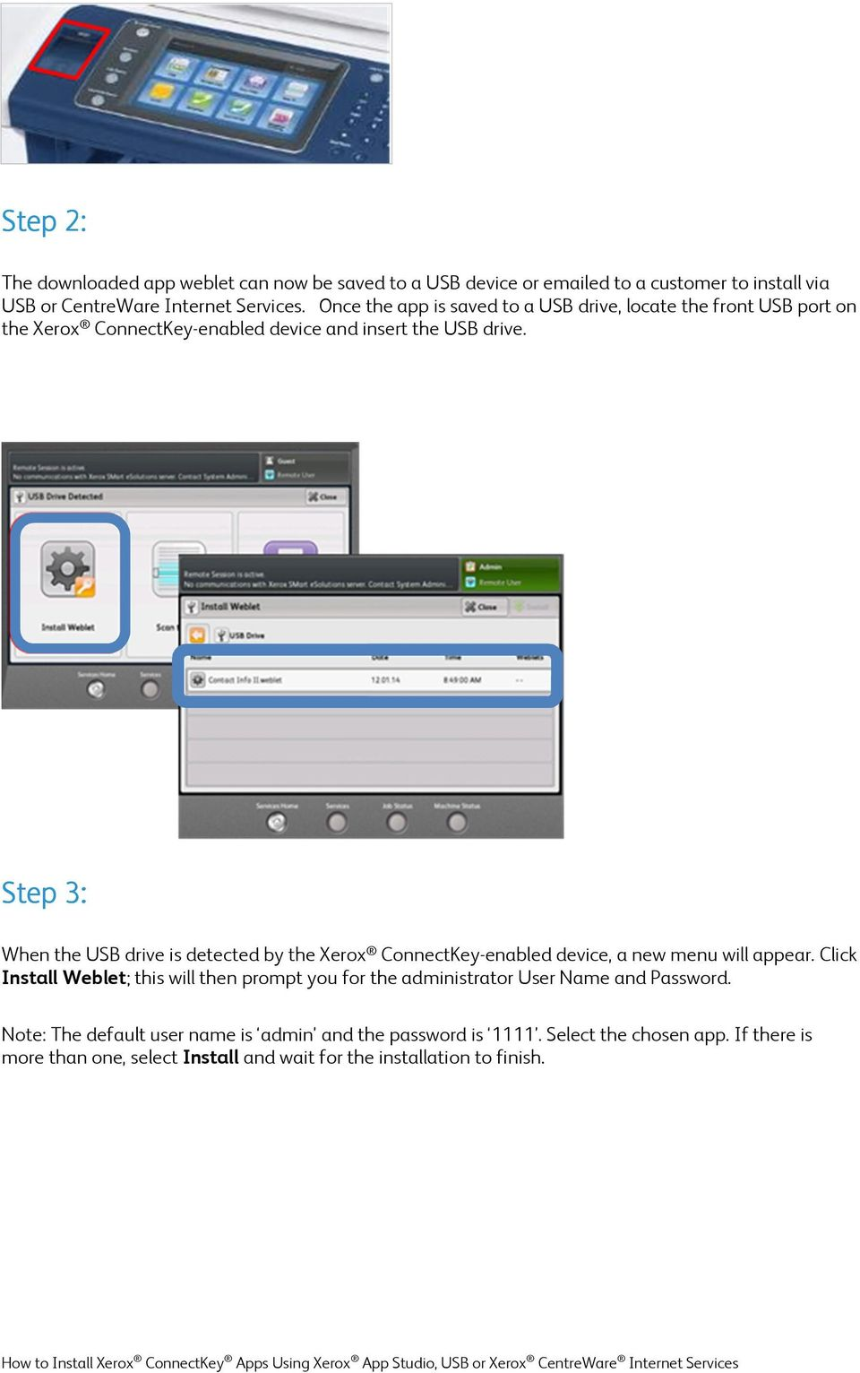 how to put apps on a usb drive