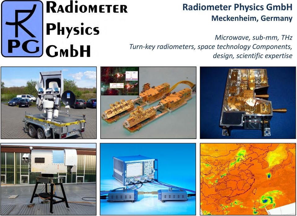 key radiometers, space technology