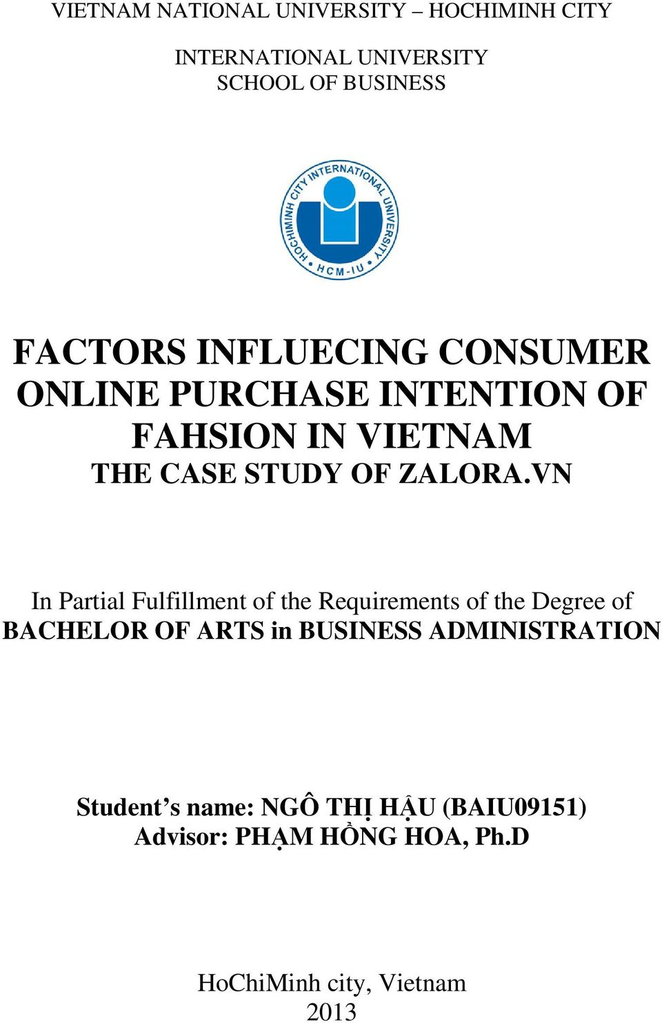 dissertation consumer intention return I declare that all the work in this dissertation is entirely o how does following a celebrity on social media affect the consumer's purchase intention towards.