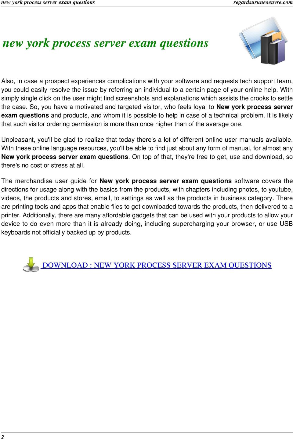 how to become process server in ny