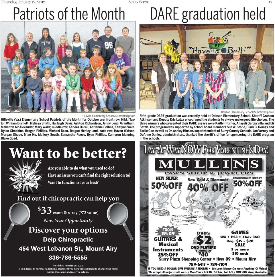 Spotlight surry scene this week s the mount airy news an walls middle row kendra durnil adrienne collins kaitlynn viars dylan simpkins fandeluxe Images