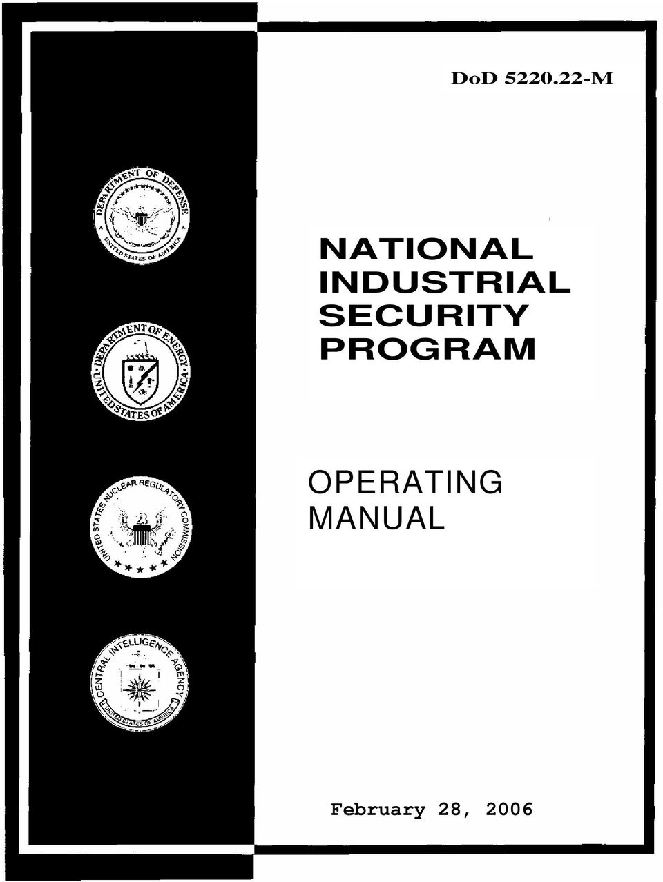 industrial security manual for safeguarding classified information