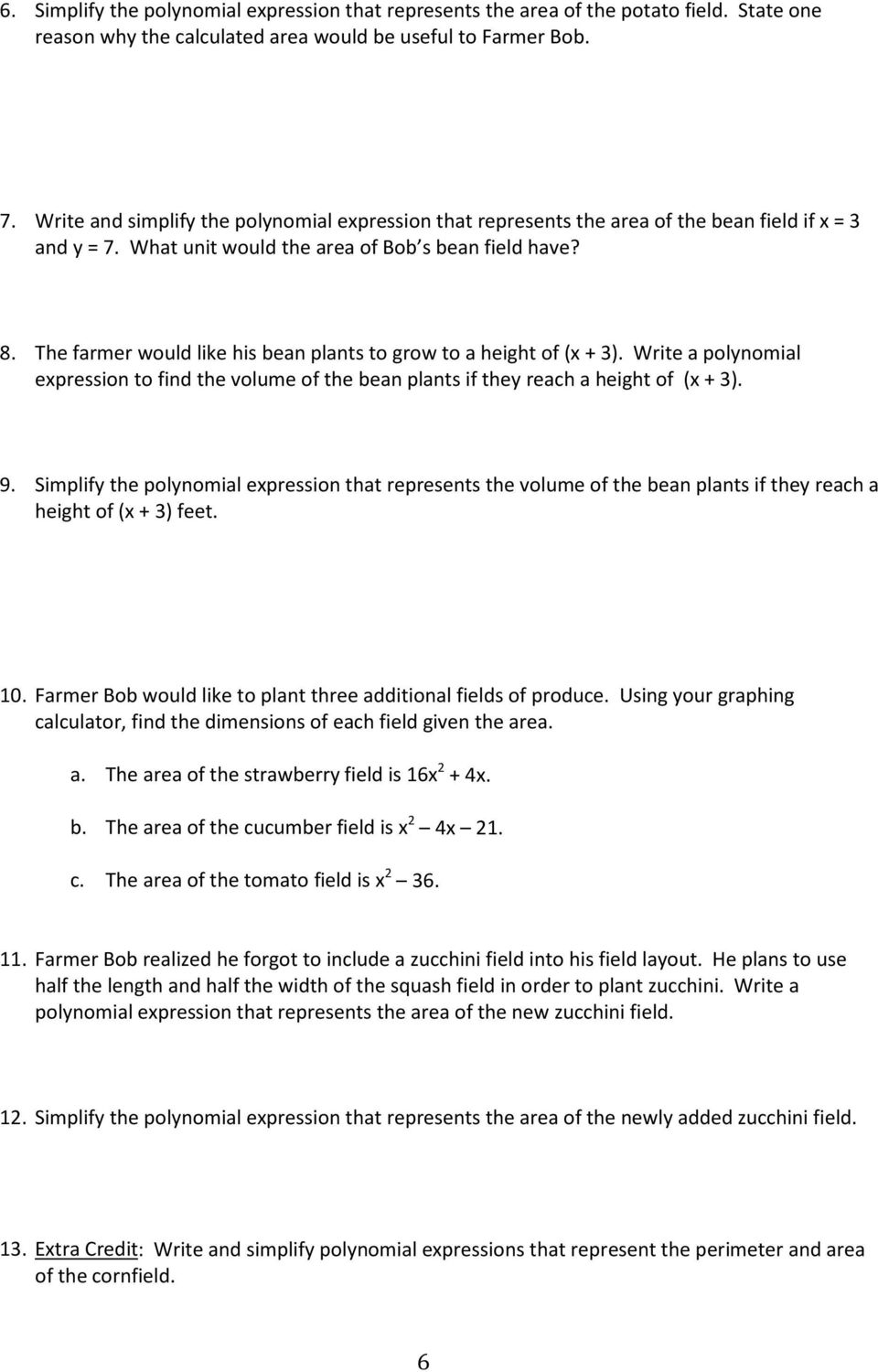 Multiplying Polynomials Worksheet Answers Katinabags – Polynomial Worksheet