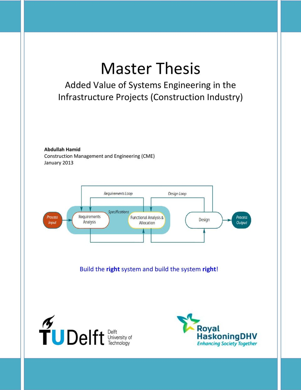 master thesis control engineering