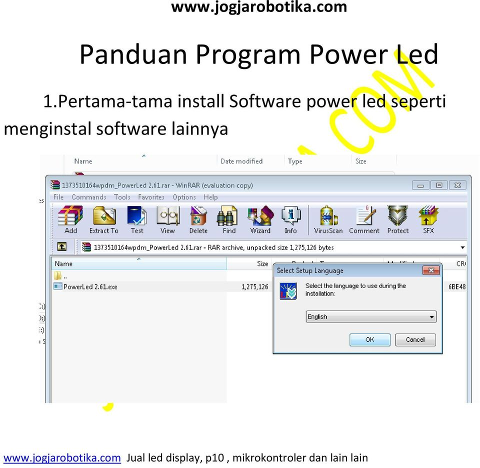 Software power led
