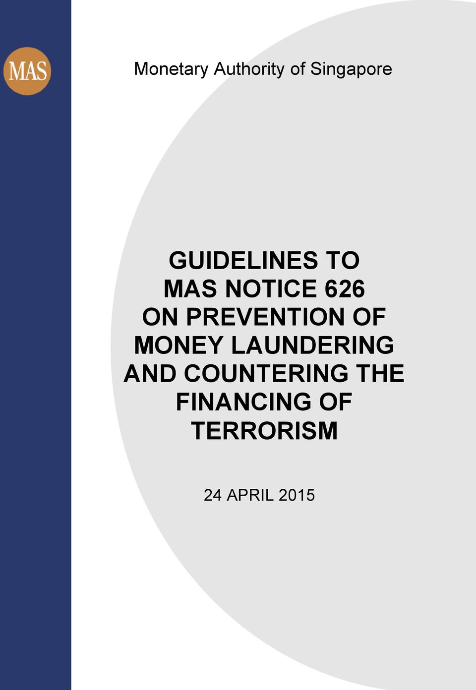 PREVENTION OF MONEY LAUNDERING AND