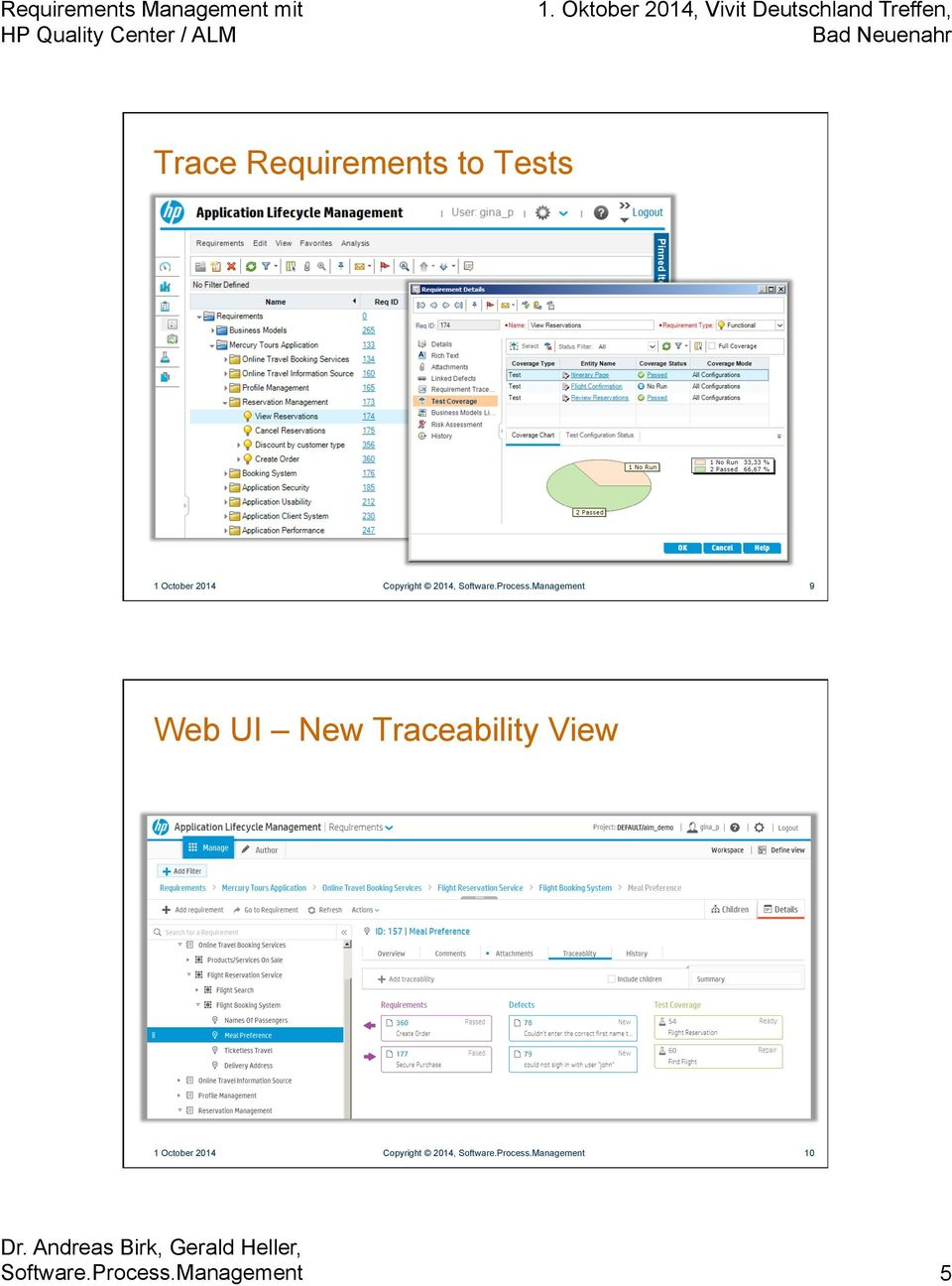 Management 9 Web UI New Traceability View 1 October