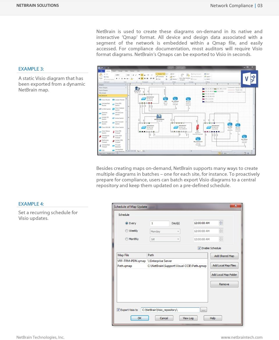 Visio Site Map Examples: Automate Key Network Compliance Tasks