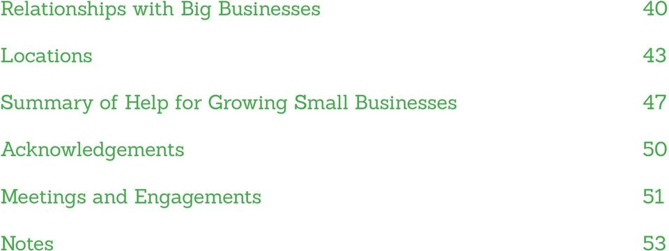 Growing Small Businesses 47