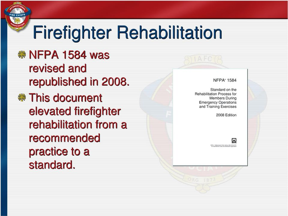 This document elevated firefighter