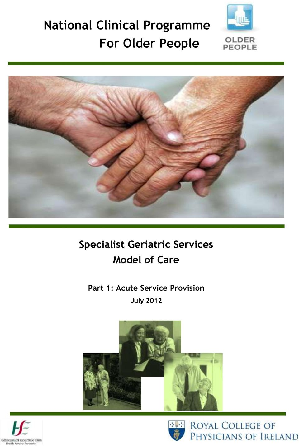 Geriatric Services Model of Care
