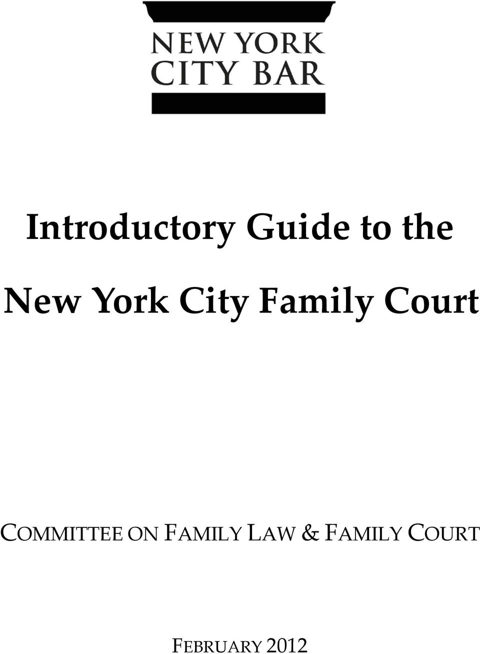 COMMITTEE ON FAMILY LAW &