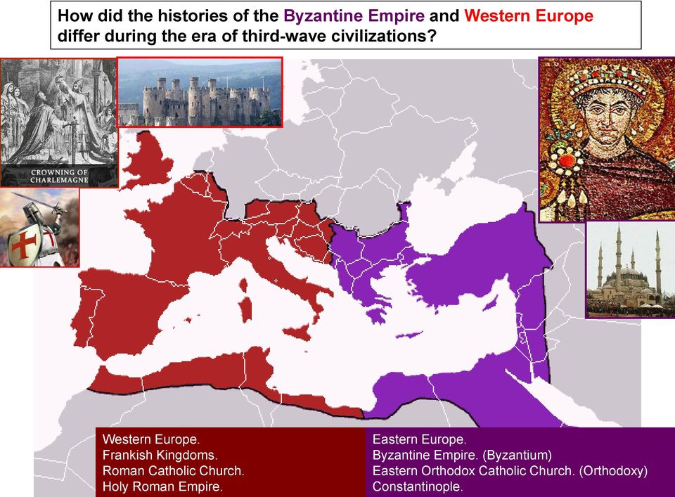 Frankish Kingdoms. Roman Catholic Church. Holy Roman Empire.
