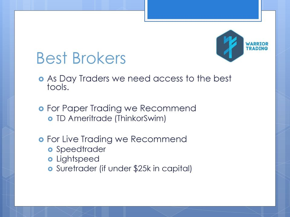 Paper trading account etrade
