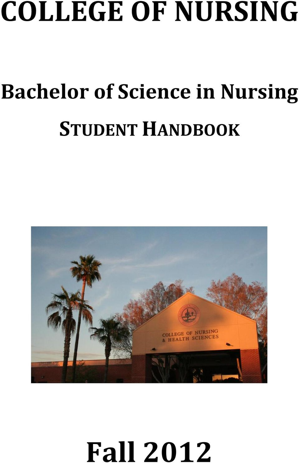 Science in Nursing
