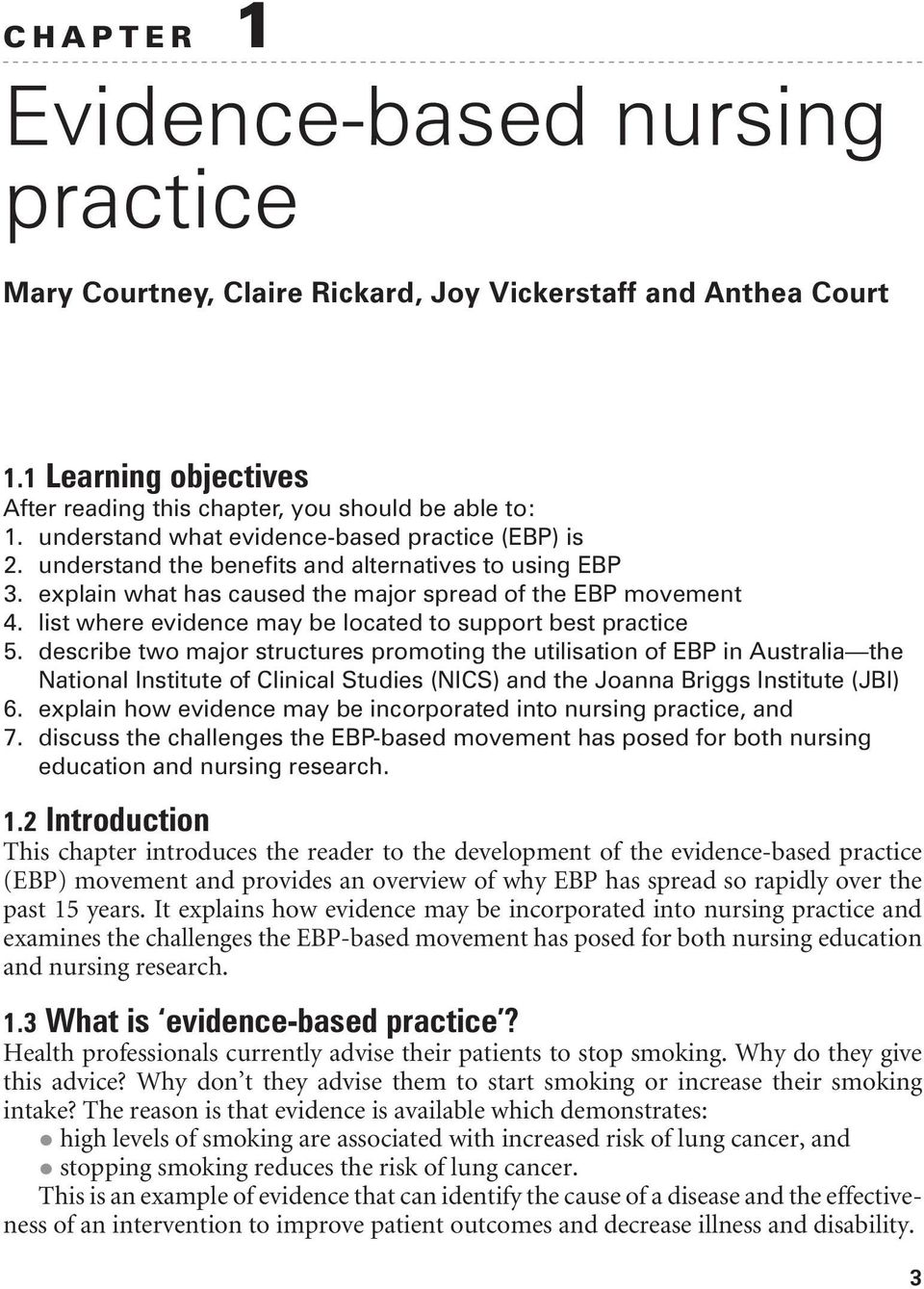 list where evidence may be located to support best practice 5.