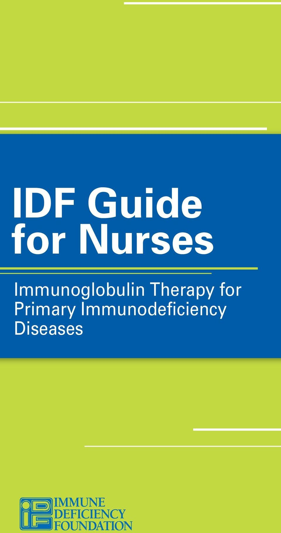 for Primary Immunodeficiency