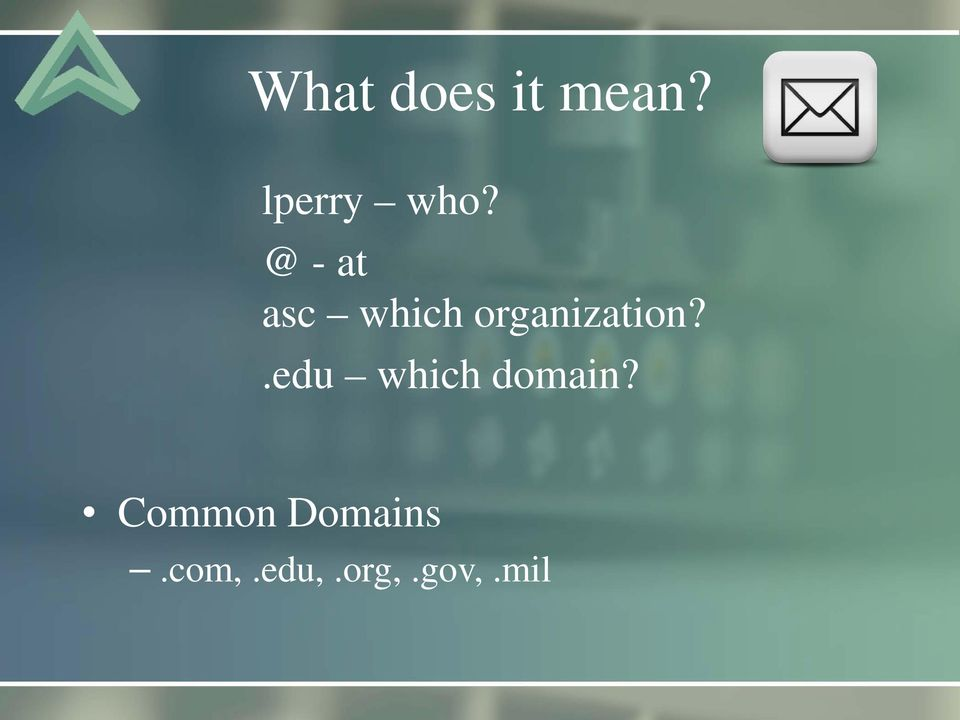.edu which domain?
