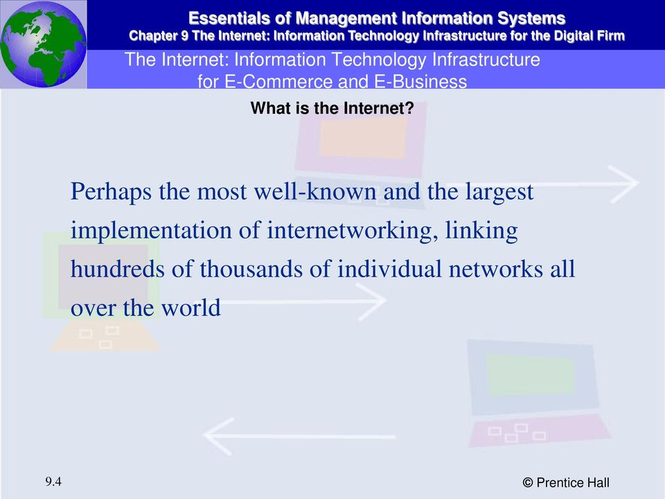 Perhaps the most well-known and the largest implementation of